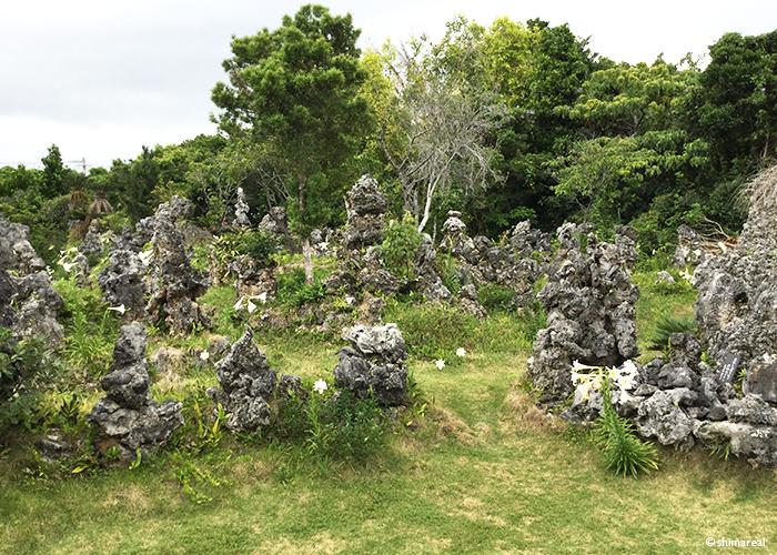 宮古島の石庭
