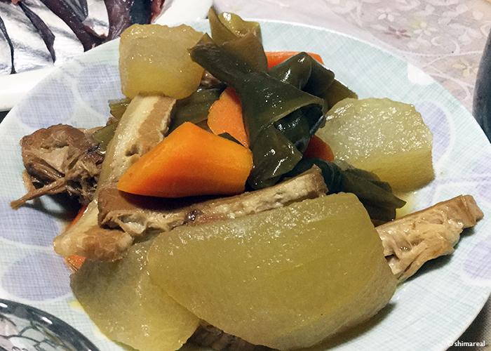 宮古島の冬瓜料理