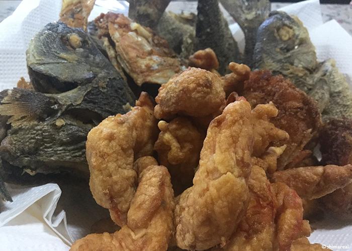 宮古島の魚天ぷら