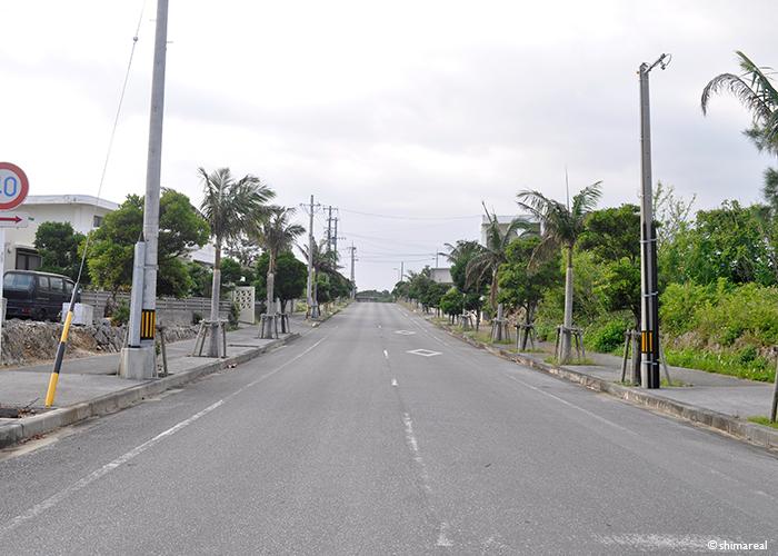 宮古島の道
